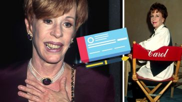 Carol Burnett reveals that a stranger wrote her a check to jumpstart her career