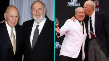 Celebrities Like Mel Brooks, Steve Martin, & Rob Reiner Remember Carl Reiner