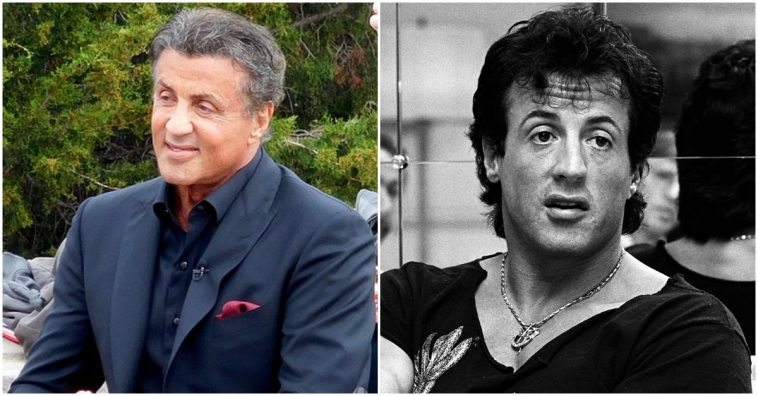 Stallone facial paralysis