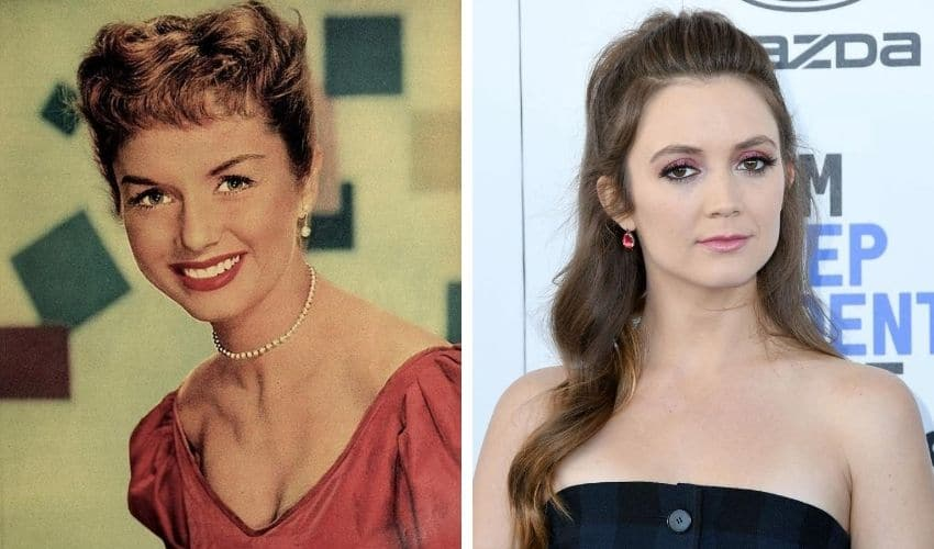 Debbie Reynolds and Billie Lourd