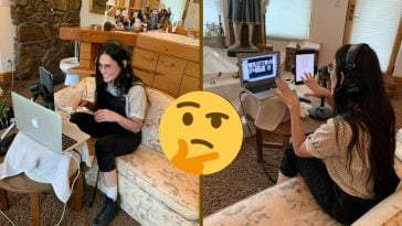 Demi Moore's social media update, set in her bathroom, has fans baffled