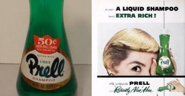 Do you remember using green Prell shampoo
