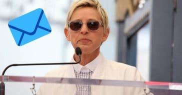 Ellen DeGeneres writes letter to staff amid investigation