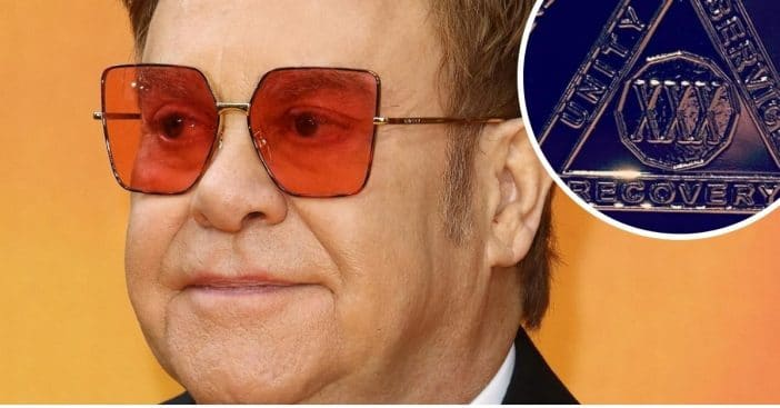 Elton John celebrates 30 years of sobriety