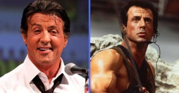 Explaining Sylvester Stallone's unique facial features and manner of speech