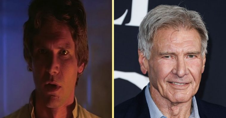 Harrison Ford ad libbed an iconic line in Star Wars