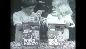If cereals from the '50s did not blatantly advertise sugar, they did so indirectly