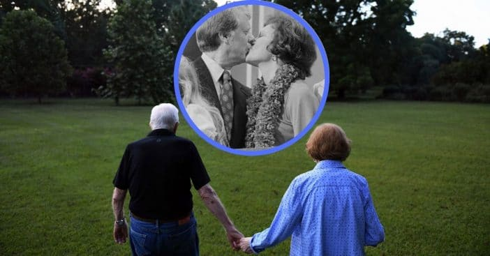 Jimmy and Rosalynn Carter set the record for longest-married presidential couple by another year