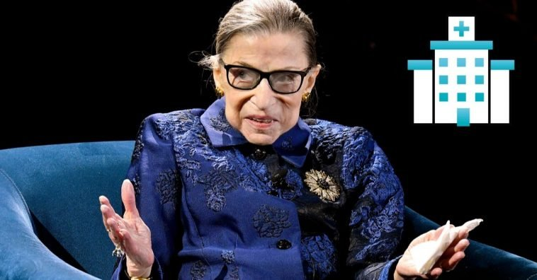 Justice Ruth Bader Ginsburg has been hospitalized for a possible infection