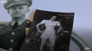 K.T. Robbins and Jeannine Ganaye met when he was stationed in France