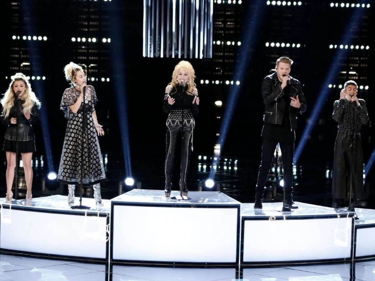 Dolly Parton Pentatonix And Miley Cyrus Deliver Rendition Of Jolene