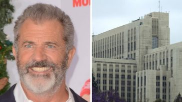 Mel Gibson was hospitalized for coronavirus in April