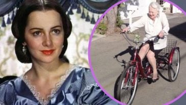Olivia De Havilland Still Loves Bike Riding At 104 Years Old