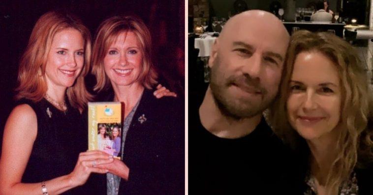 Olivia Newton John shares statement about Grease co star John Travolta wife Kelly Preston death