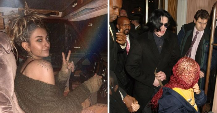 Paris Jackson says she is grateful her father Michael Jackson made her wear masks in public