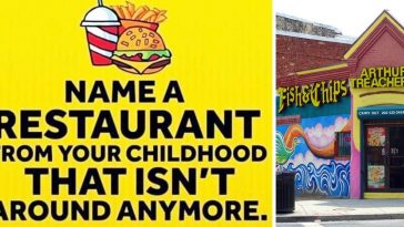 Restaurants from childhood that do not exist anymore