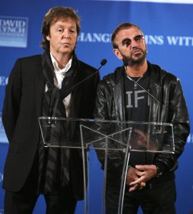 Ringo Starr's birthday concert features a performance with him and Paul McCartney