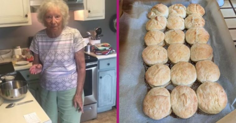 Southern Grandma Is An Internet Sensation With Famous 4-Ingredient Biscuits