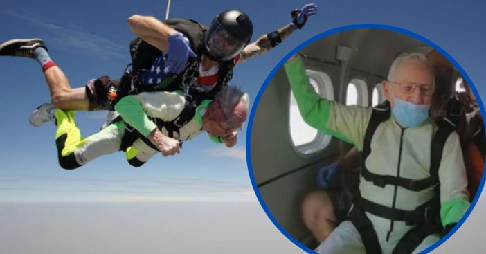 This 103-Year-Old Man Has Achieved The Guinness World Record For Skydiving, See The Photos