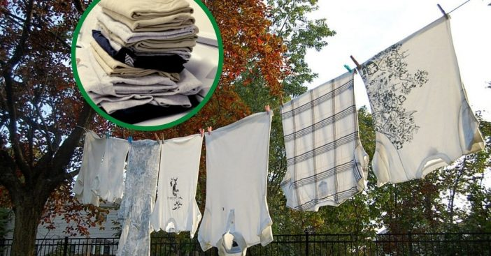 Through the '50s, clotheslines crisscrossed all around to dry clothing