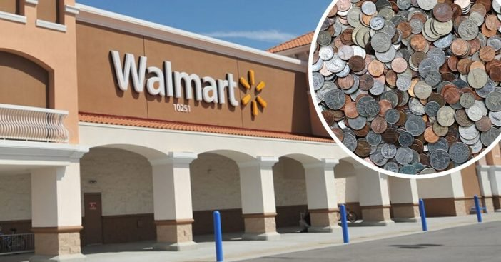 Walmart is asking customers to use credit cards amid coin shortage