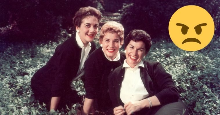 Why the Andrews Sisters had a feud and did not speak for years