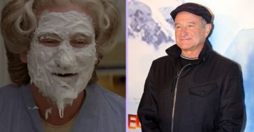 This Scene In 'Mrs. Doubtfire' Was Totally Improvised By Robin Williams