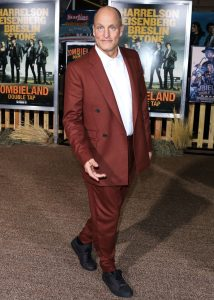 Woody Harrelson attends the premiere of Zombieland Double Tap in 2019