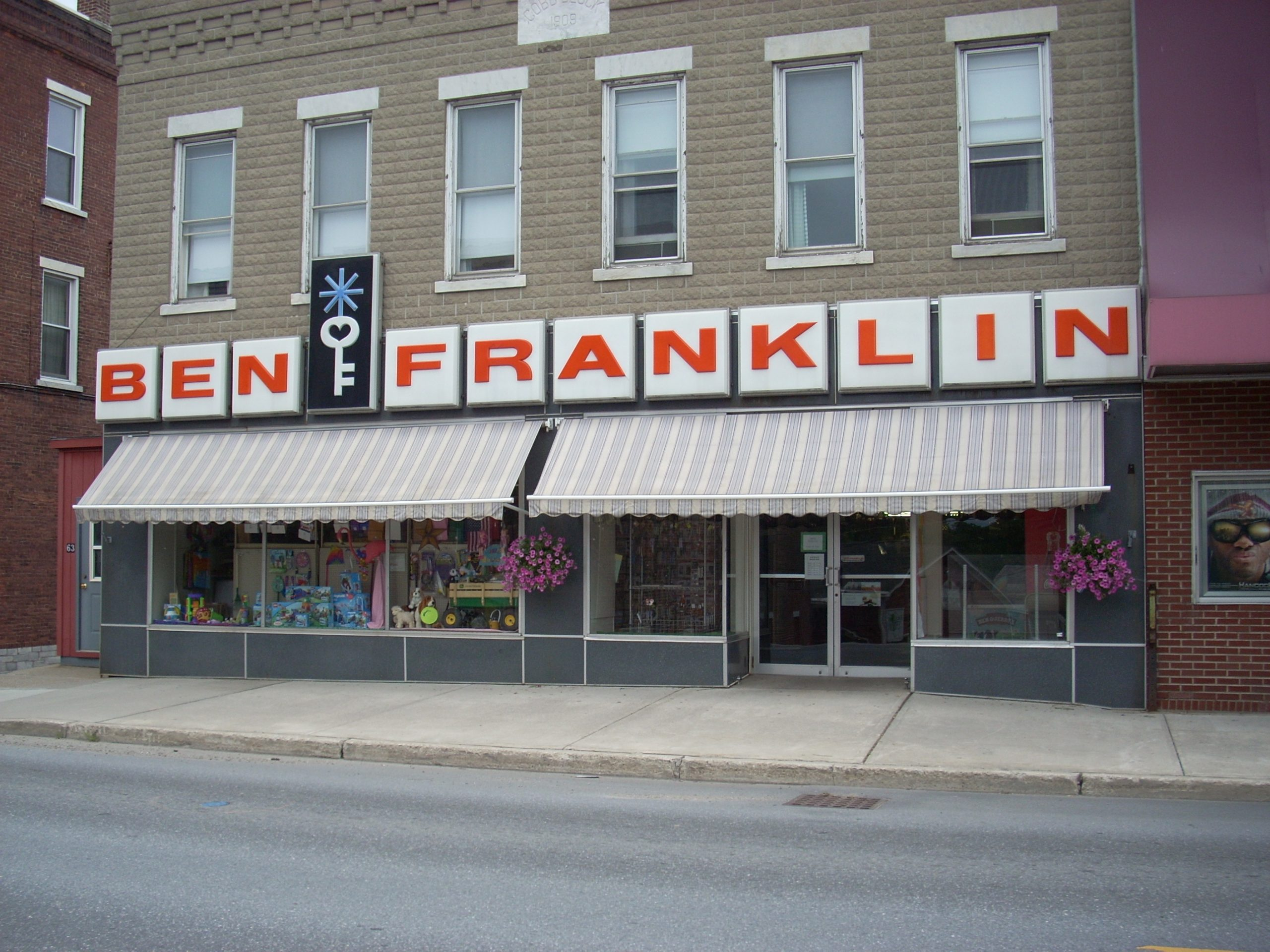 ben franklin five and dime store