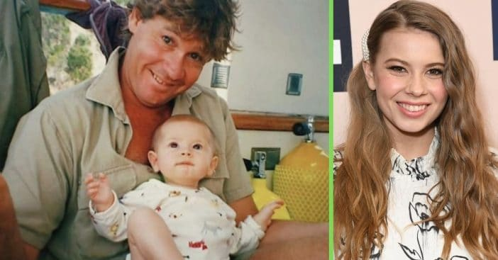 bindi irwin shares video of steve irwin talking about fatherhood