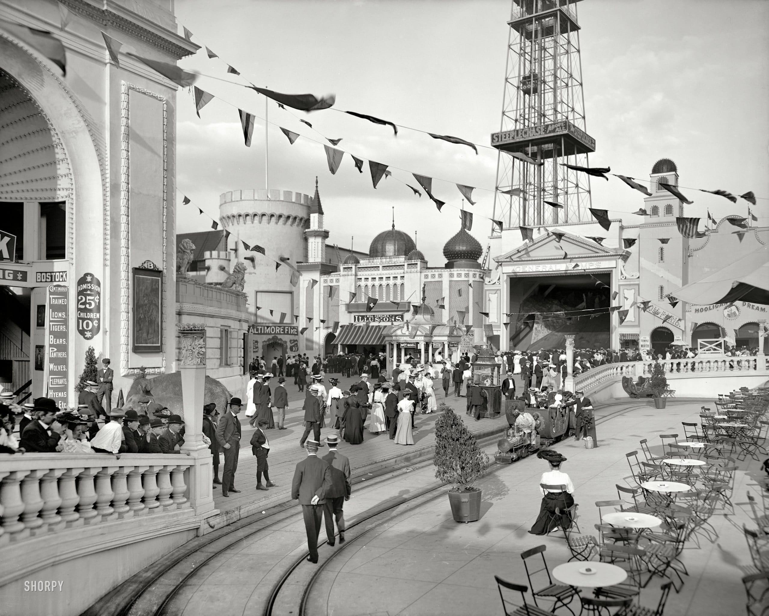 coney island dreamland 1900s