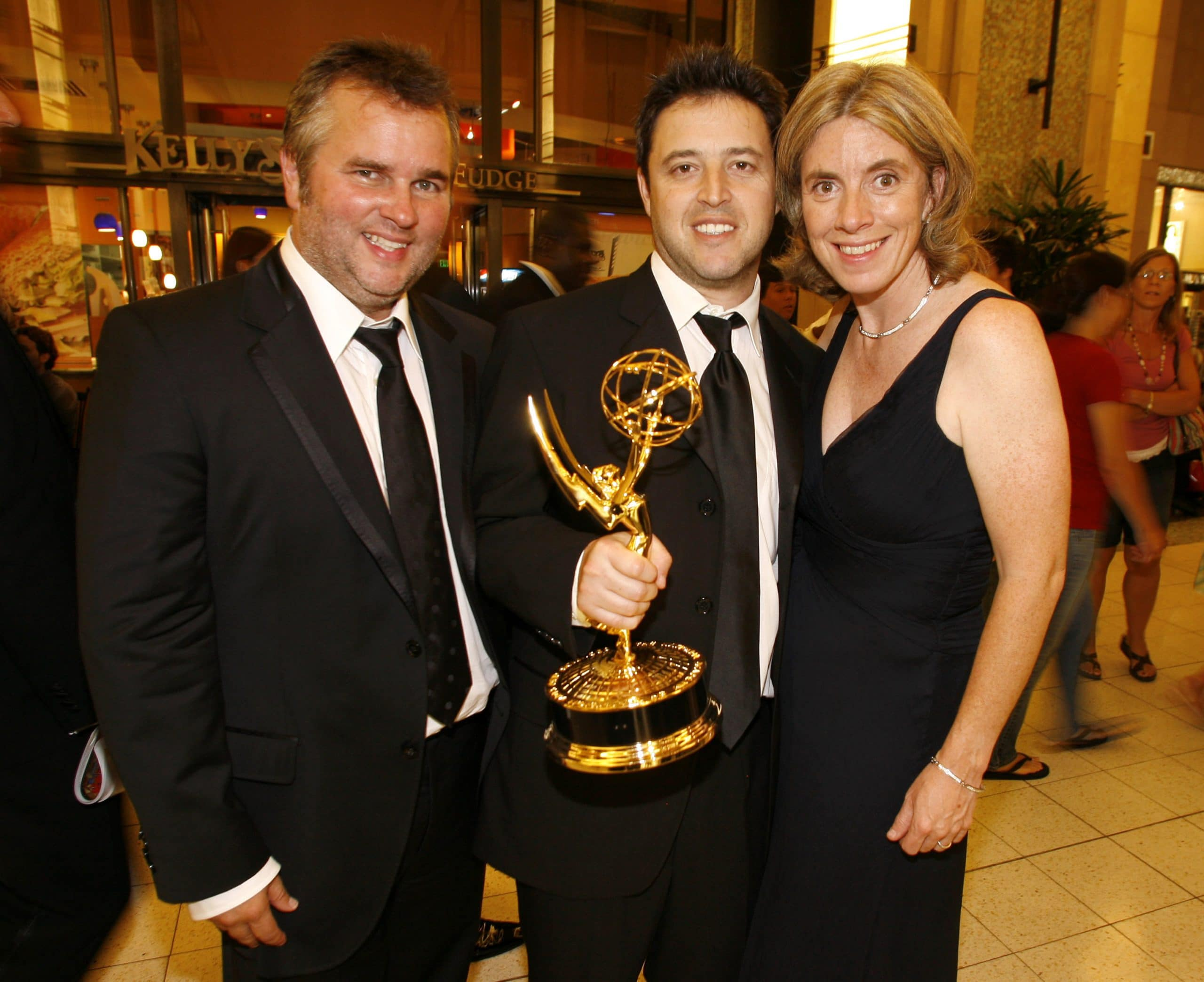 the ellen degeneres show producers Ed Glavin, Andy Lassner and Mary Connelly