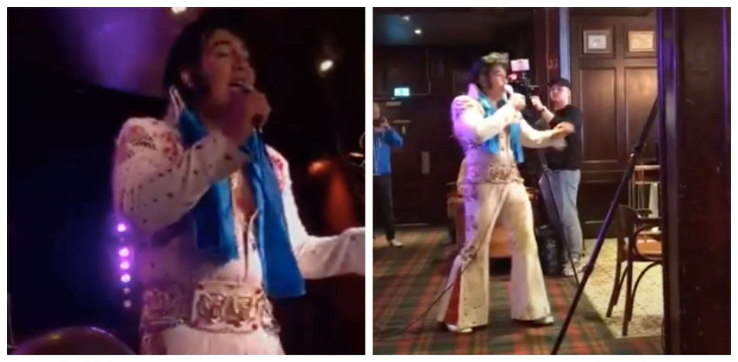 An Elvis Impersonator Sang For Over 50 Hours To Break Guinness World Record