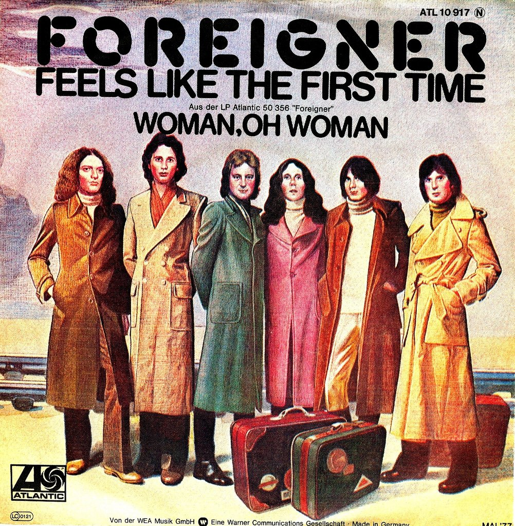 """Feels Like the First Time"" Foreigner"