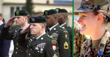 first woman in history to become green beret