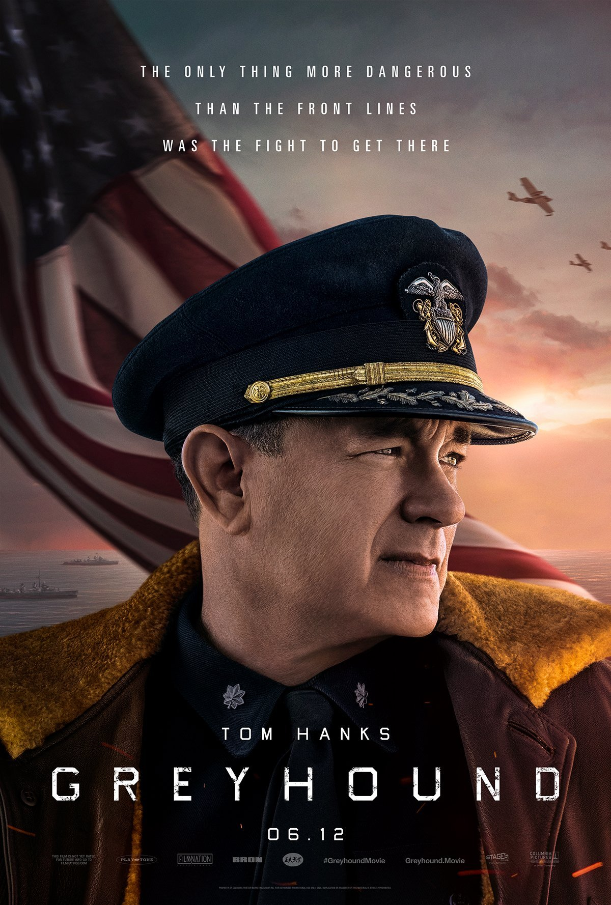 greyhound movie poster tom hanks