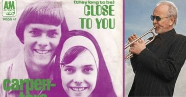 herb alpert helped produce close to you by the carpenters
