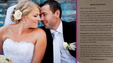 insulting wedding invite sparks outrage