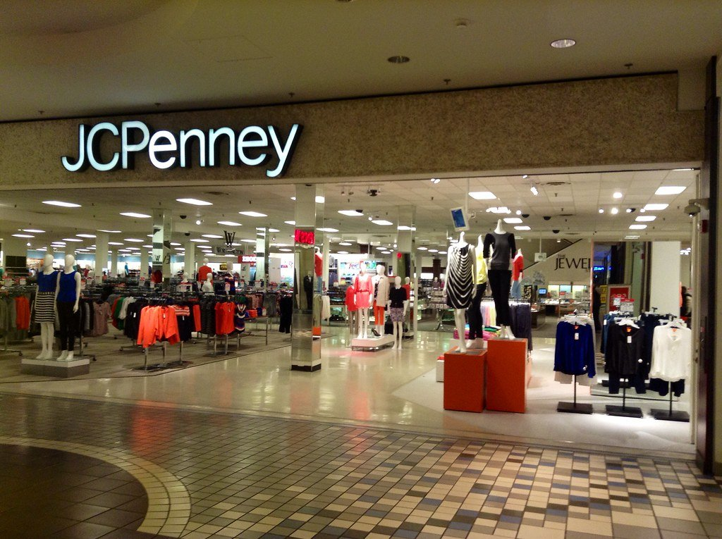 jcpenney store in a mall