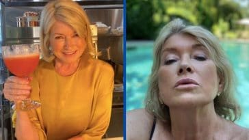 martha stewart posts thirst trap photo