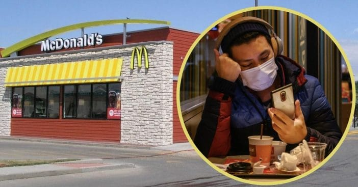 mcdonalds will have law enforcement step in for customers not wearing masks