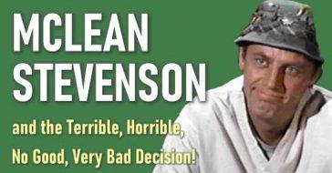 mclean stevenson left mash