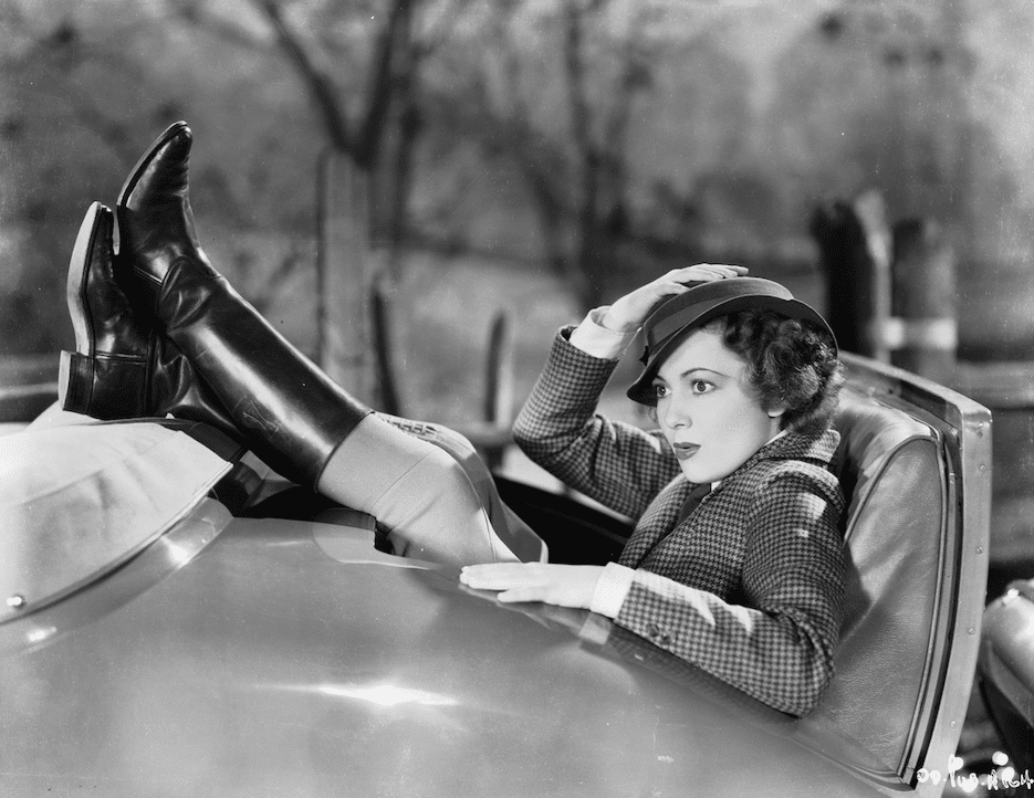 Take A Look At Olivia De Havilland's Blockbuster Convertible From Hollywood's Golden Age