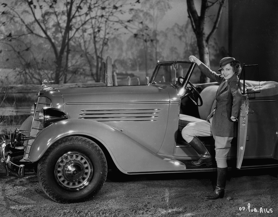 Take A Look At Olivia De Havilland's Blockbuster Convertible During Hollywood's Golden Age