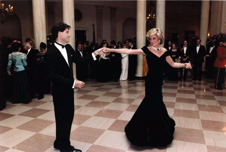 john travolta dancing with princess diana
