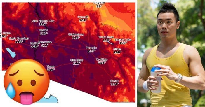 rare heatwave this weekend
