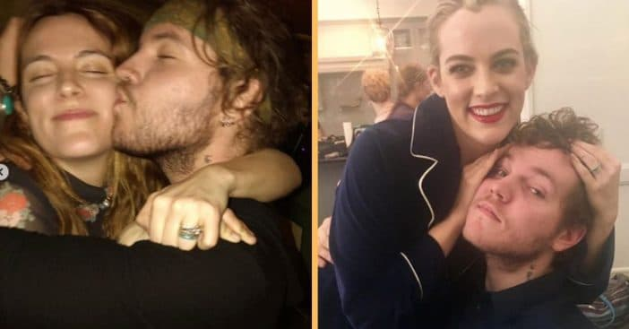 riley keough shares sweet video of happier times with benjamin