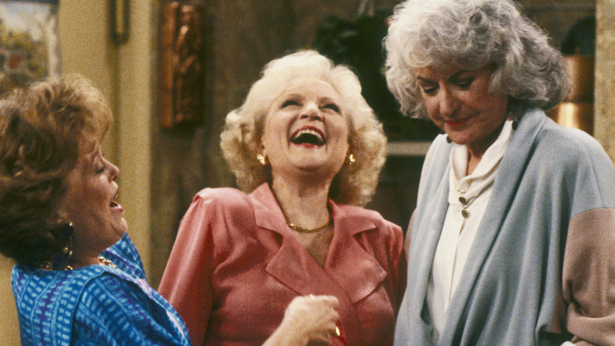 the golden girls rose laughing