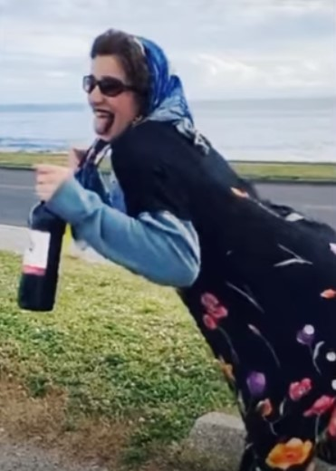 teen dressed up as grandma to buy alcohol prank