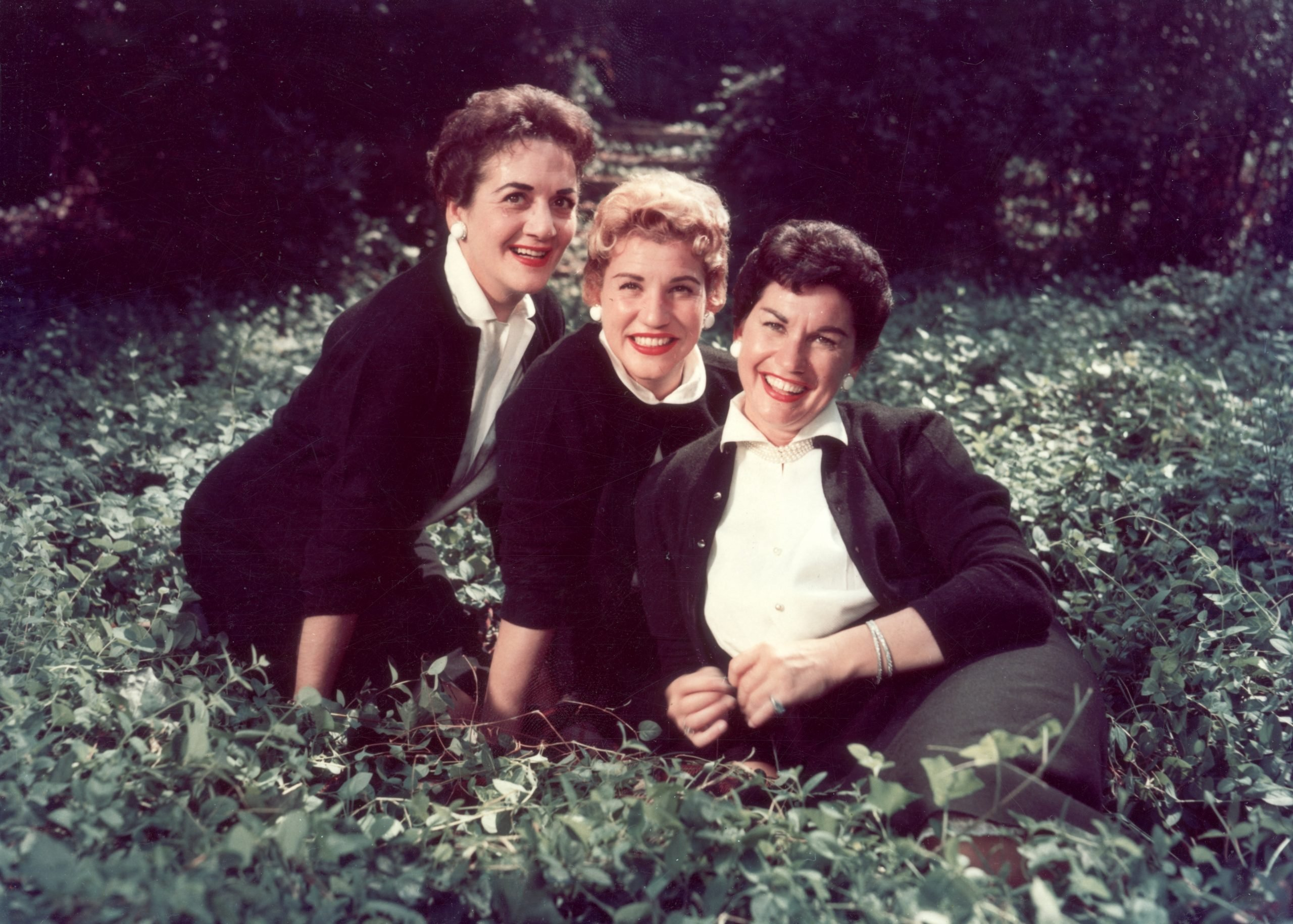 the andrews sisters portrait